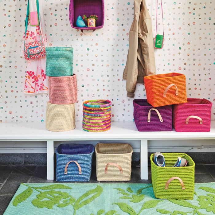 storage baskets from rice