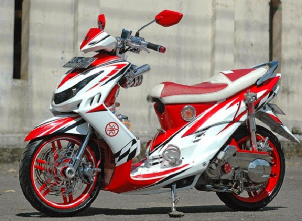 ide modifikasi mio sporty cw