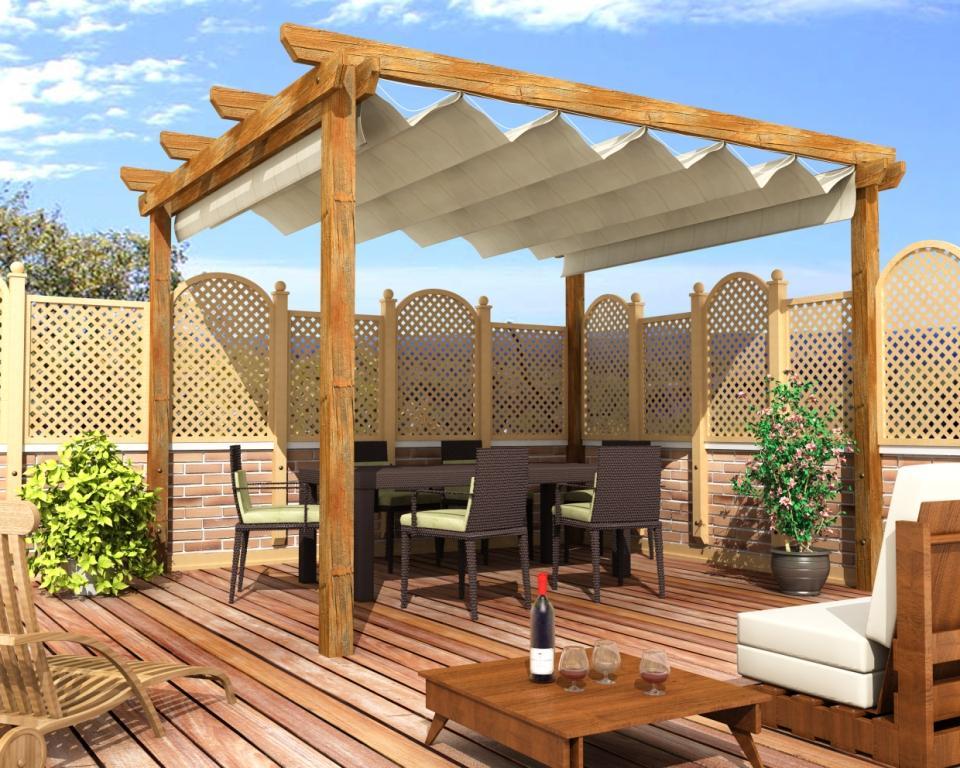 Gallart grupo el blog suelos y puertas de madera en - Tejados para pergolas ...