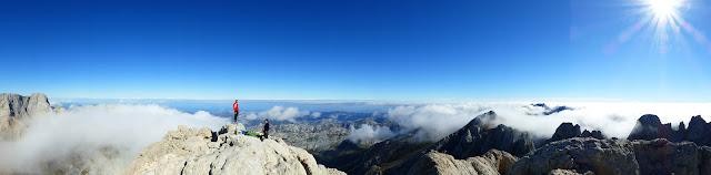 Cumbre del Picu en octubre