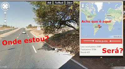 GeoGuessr - descubra em qual parte do mundo você está!