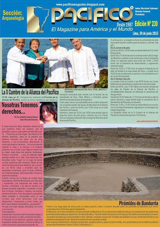 Revista Pacífico Nº 230 Arqueología