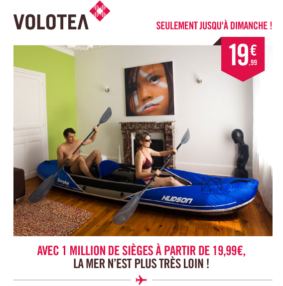 Volotea canoe