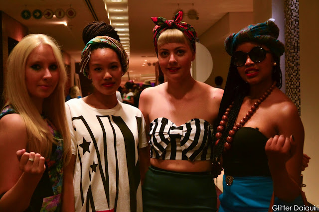 megan koster, kelicia magerman, kate kabe, safw, south african fashion week 2014, microbraids, striped crop tops, turbans, headbands, h&m, kotton & twille, safw day 3, glitter daiquiri, street style