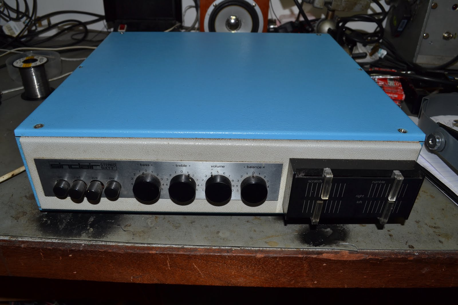 Doz Blog 2017 Amplifier Timer Now Back In The 60s And 70s Before Sir Clive Hit Big Time With Home Computers Sinclair Sold Electronic Kits Stereo Sixty Was