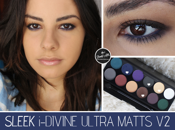 sleek ultra matts v2 palette swatches review