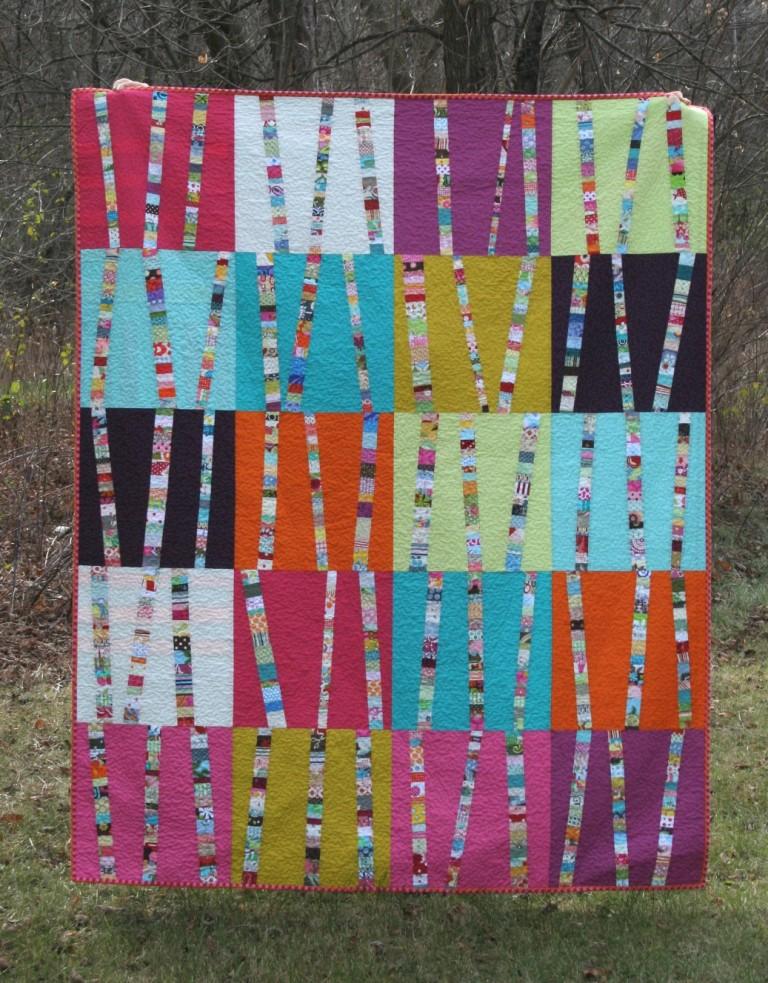 crazy mom quilts: bright birch trees : crazy mom quilts - Adamdwight.com