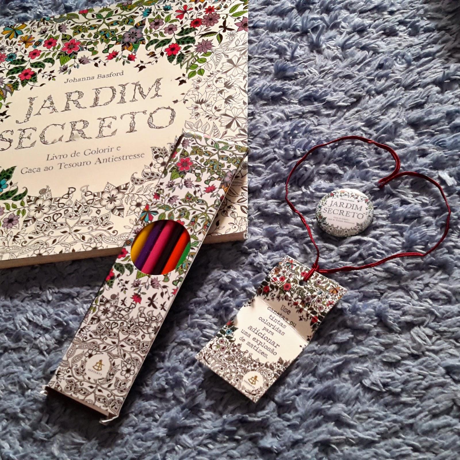 fotos jardim secreto:Paixão por Livros: Resenha: Jardim Secreto – Johanna Basford @