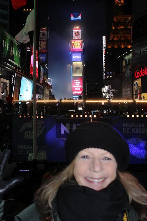 capodanno in Times Square 2012, foto Francesco G. Teratone