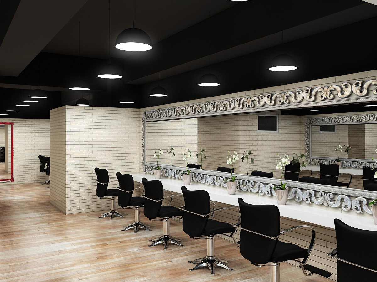 Ideeform Hair Cutting Area