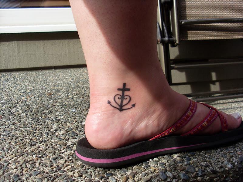 My New Tattoo: Faith, Hope, & Love title=