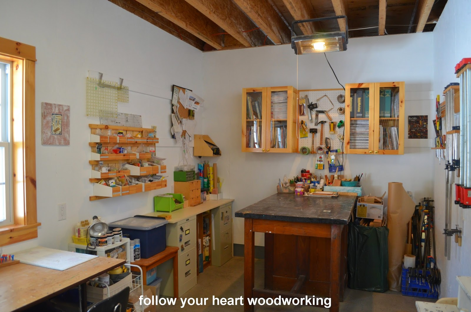 Follow Your Heart Woodworking My Fabulous Workshop That