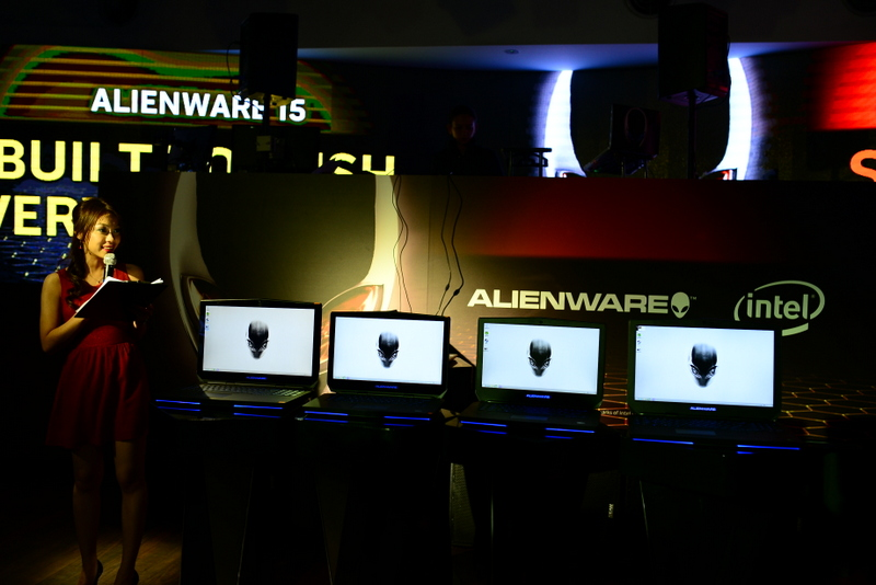 ChewyJas Media Launch Alienware Unleashes Highly