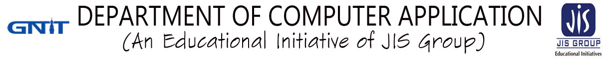 Department of Computer Application