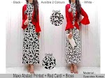 Maxi Abstrak + Cardi SOLD OUT