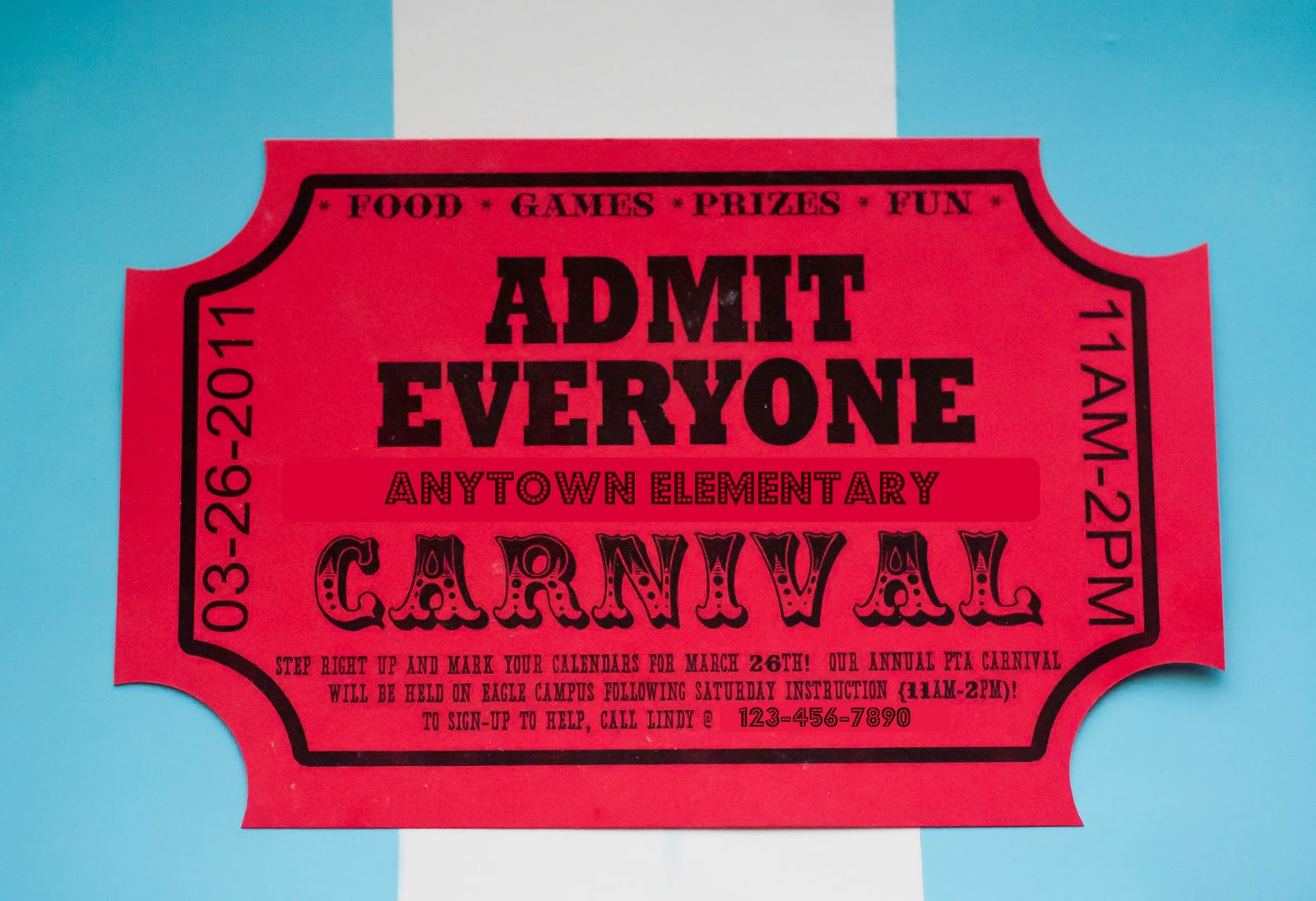 Carnival Advertising And Other Craziness My Insanity