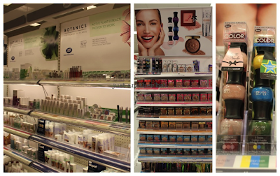 Target eco-friendly cosmetics Roots & Physician's Formula