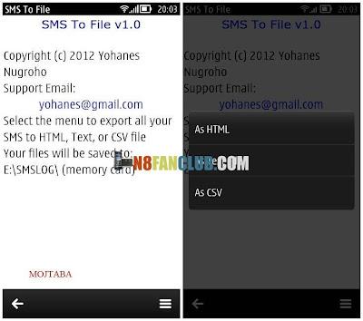 Экспорт Контактов Android В Symbian
