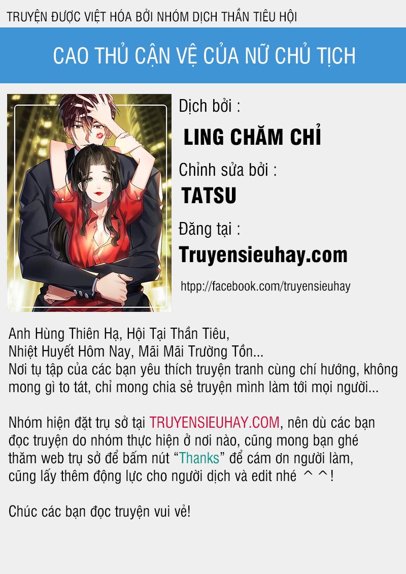Cao Thủ Cận Vệ Của Nữ Chủ Tịch Chapter 19 video - Hamtruyen.vn