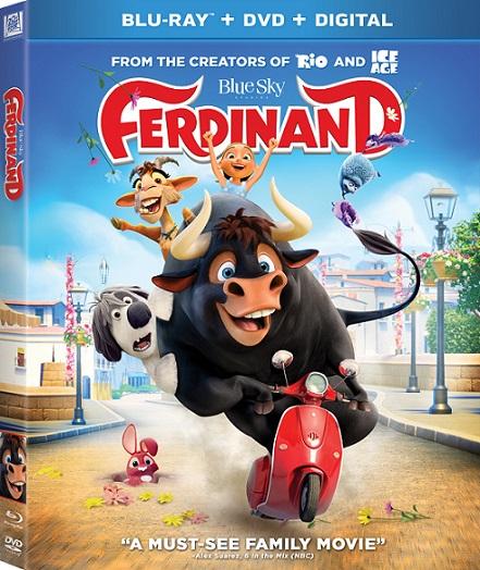 Ferdinand (Olé, el viaje de Ferdinand) (2017) 1080p BluRay REMUX 23GB mkv Dual Audio DTS-HD 7.1 ch