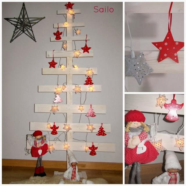 Diy el rbol de navidad de madera de sailo - Arboles de navidad en madera ...