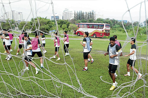 Separuh Akhir Ke Dua Suzuki Cup 2012 - Malaysia Vs Thailand