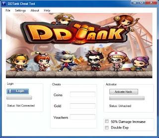 DDTank Cheats and Hack v.1.51