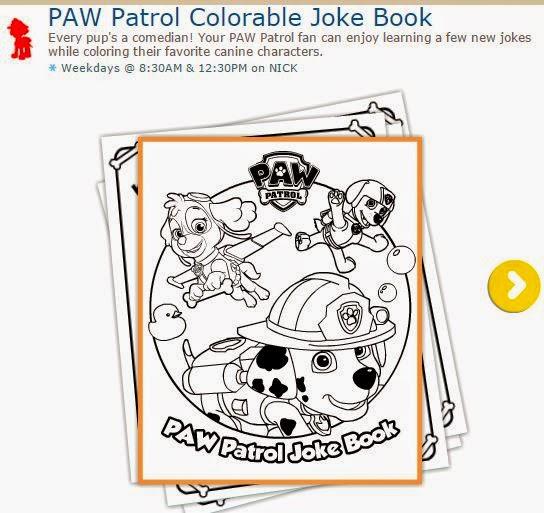 Paw Patrol o Patrulla Canina: Hojas para Imprimir Gratis para Colorear.