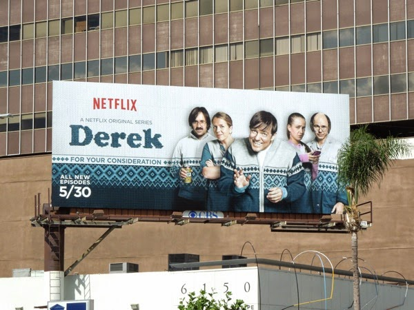 Derek season 2 Emmy Consideration 2014 billboard