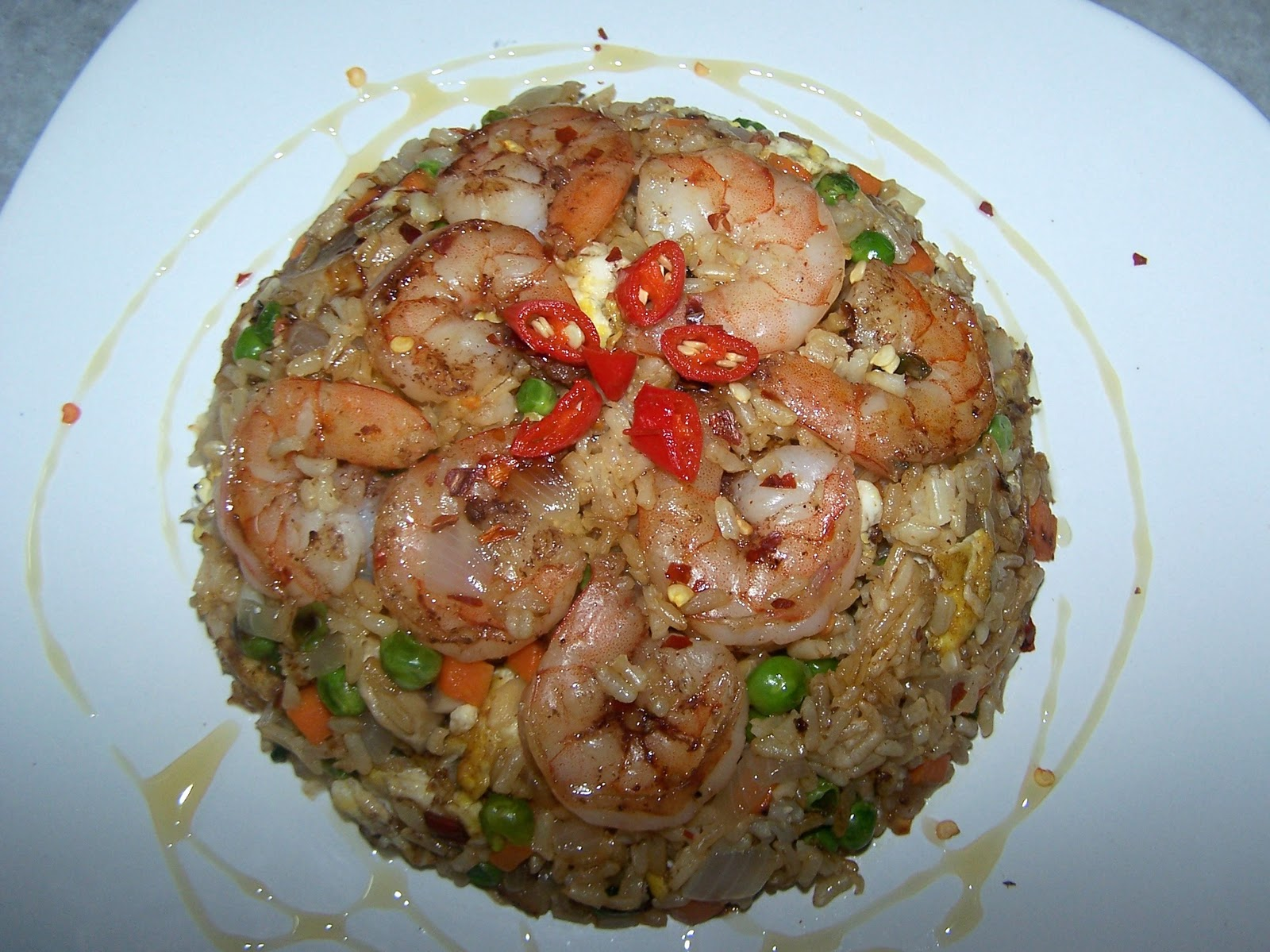 once wrote sauteed five spice shrimp five spice shrimp fried rice