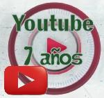 Youtube cumple 7 años