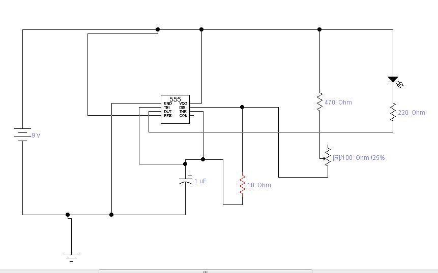 Circuito Oscilador 555 : Leoelectronia eso oscilador