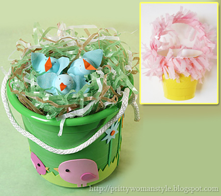 Мини кошнички за яйца от пластмасови чашки за кафе