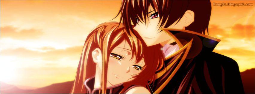 Foto Sampul Facebook Couple Anime Bangiz