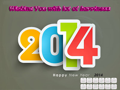 Happy New Year Wishes Wallpapers 2014 Free Downloads