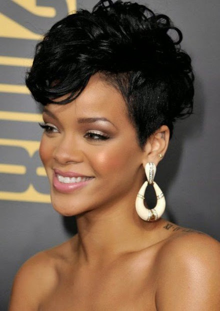 top hairstyles models latest rihanna