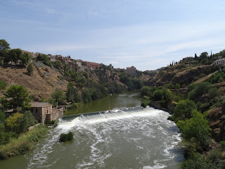 El Tajo a su paso por Toledo