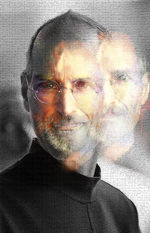 paulgomes 20 Awesome Graphical Tributes to Steve Jobs