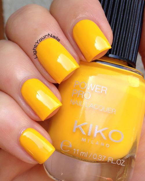 Kiko Power Pro n. 31 Giallo