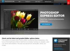 Adobe Photoshop Express online editor de Photoshop reducido