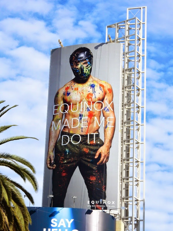 Equinox Made me do it paintball billboard