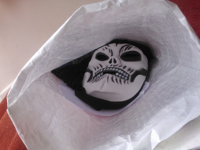 A Halloween Mask In a Jiffy Bag Made Me Wet Myself