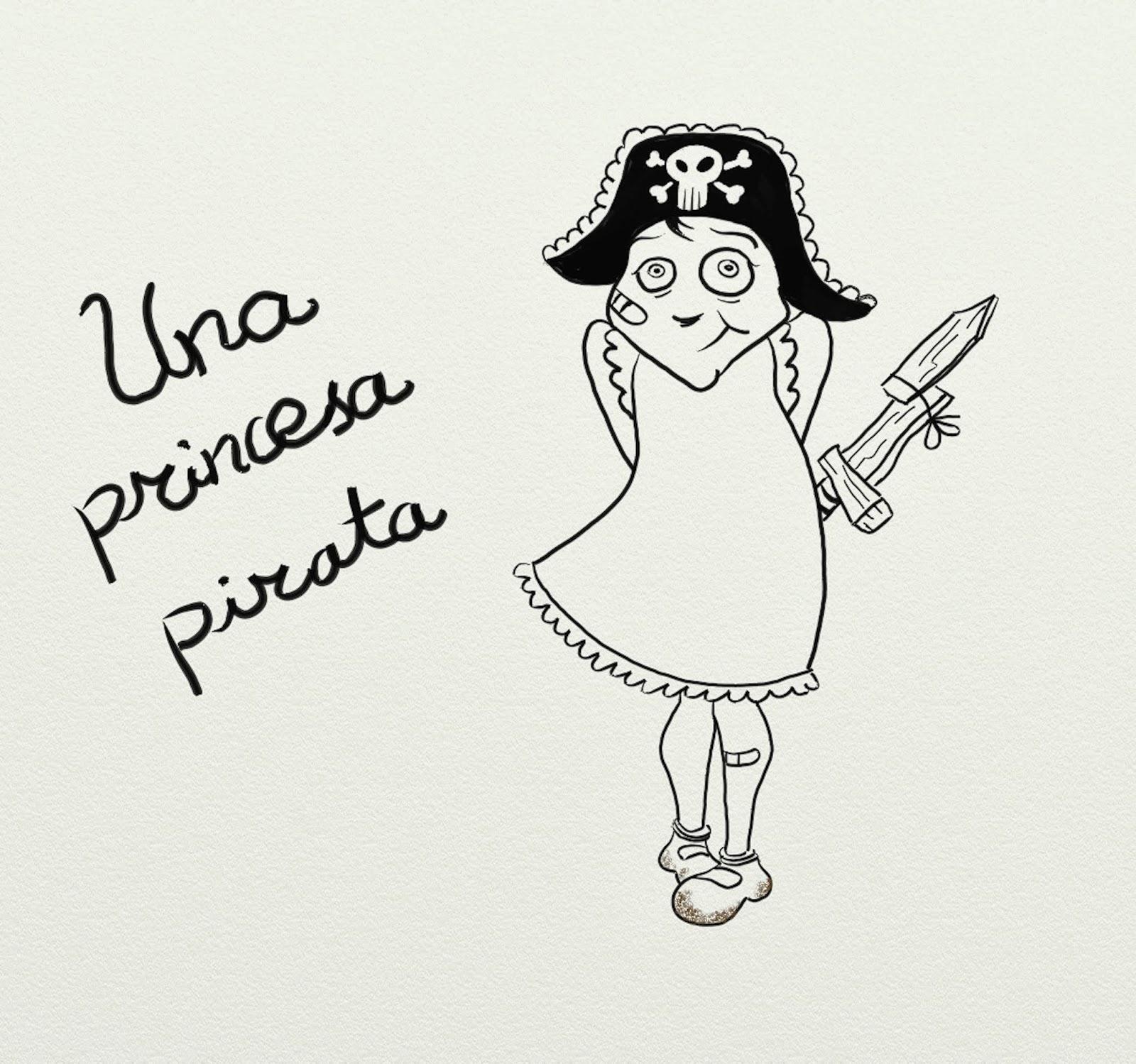 Una Princesa Pirata: Garabatos en cubierta