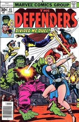Defenders #45, Red Rajah