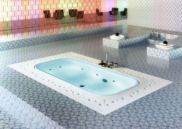 Vasche e docce la spa arima di glass idromassaggio