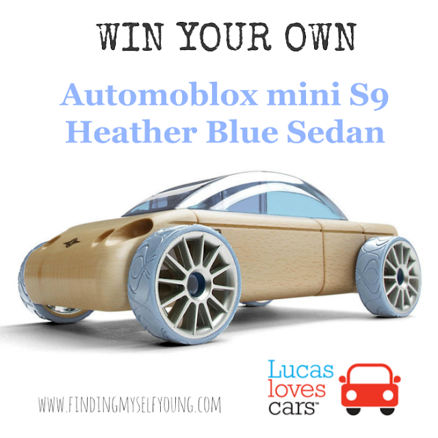 Finding Myself Young Automoblox giveaway with Lucas Loves Cars