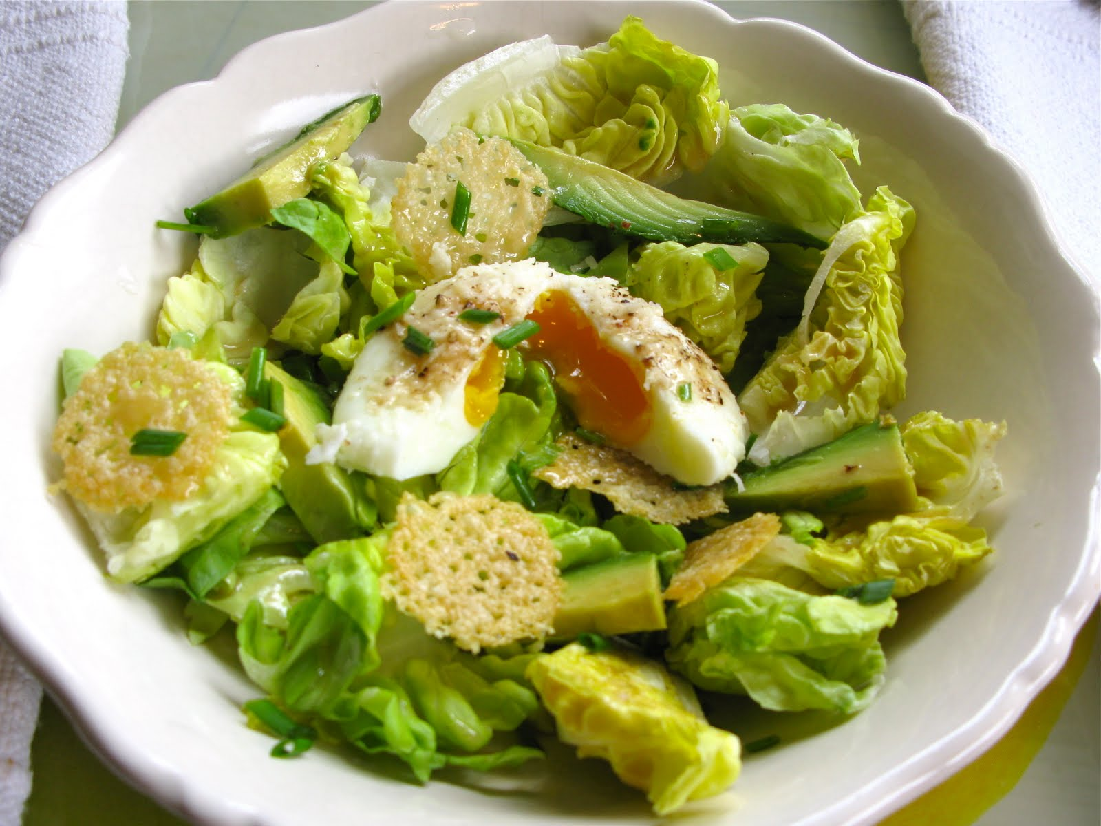 Randie's Recipes: Figure Friendly Caesar Salad