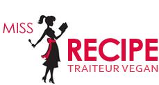 Miss-Recipe.com | Traiteur vegan à Québec