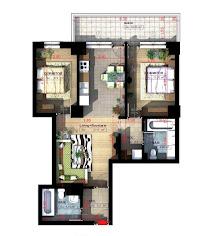 Royal Town Copou Iasi - Apartament 3 camere - 75,80 mp