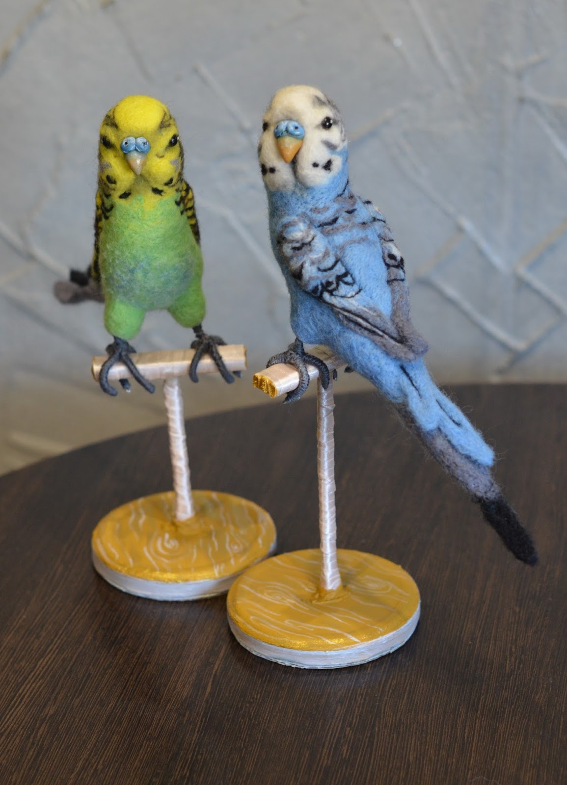 Попугай из глины своими руками